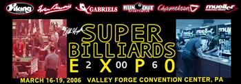 Valley Forge Billiard Expo